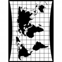 Folder embosador Mapa de Darice