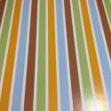 "Paquete de cartulinas estampadas rayas de colores 12x12"""