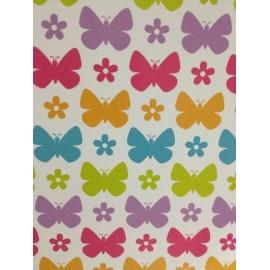"""Paquete de cartulinas mariposas de colores 12x12"""""""